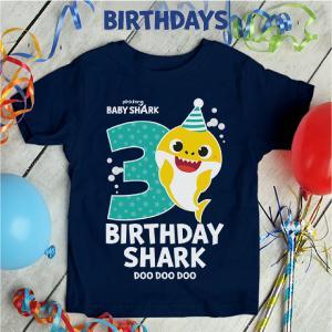 Baby Shark doo doo doo shirts 3rd birthday 2nd birthday 4th birthday 1st birthday gifts