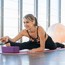 Deepen Stretches & Poses - Use the blocks to add different heights based on how you lay it down