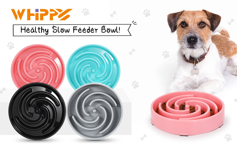 WHIPPY Slow Feeder Bowl