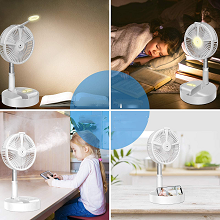 Fans used in air-conditioned rooms