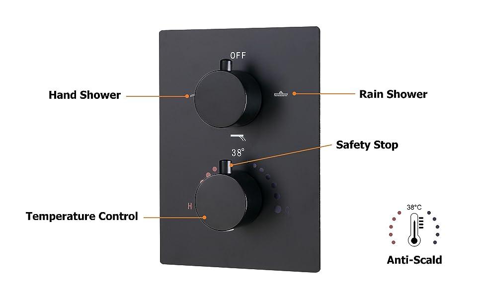 JiaYouJia 2-Function Shower Valve