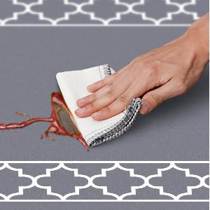 easy clean floor mats for house