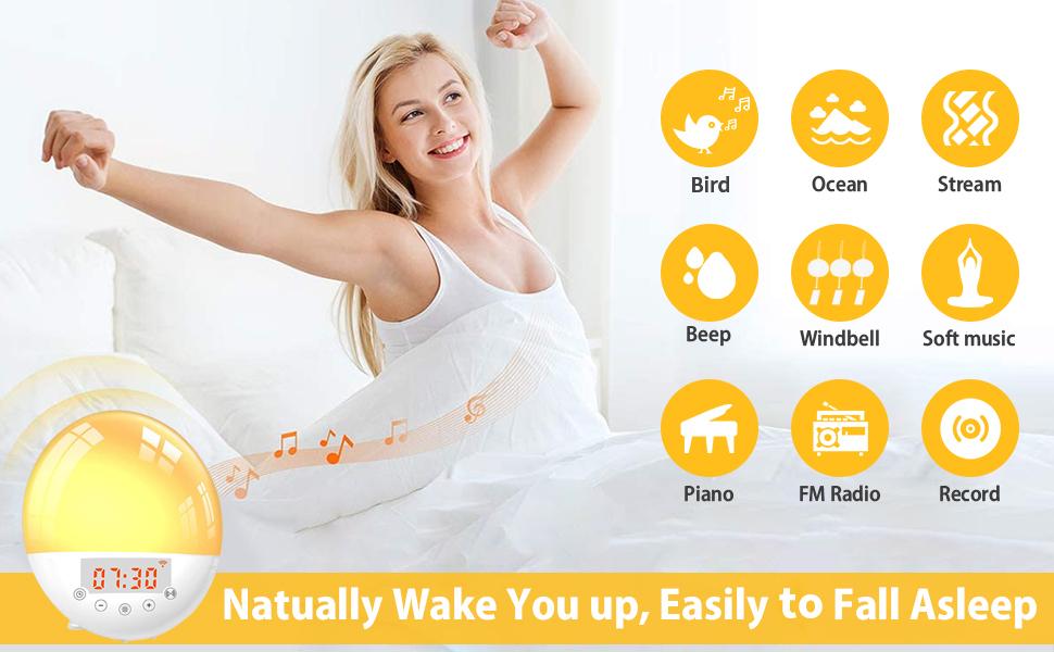 9 options pour la musique d'alarme Radio FM