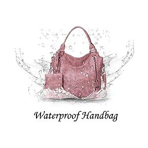 Water Resistence Hobo Shoulder Tote Bag