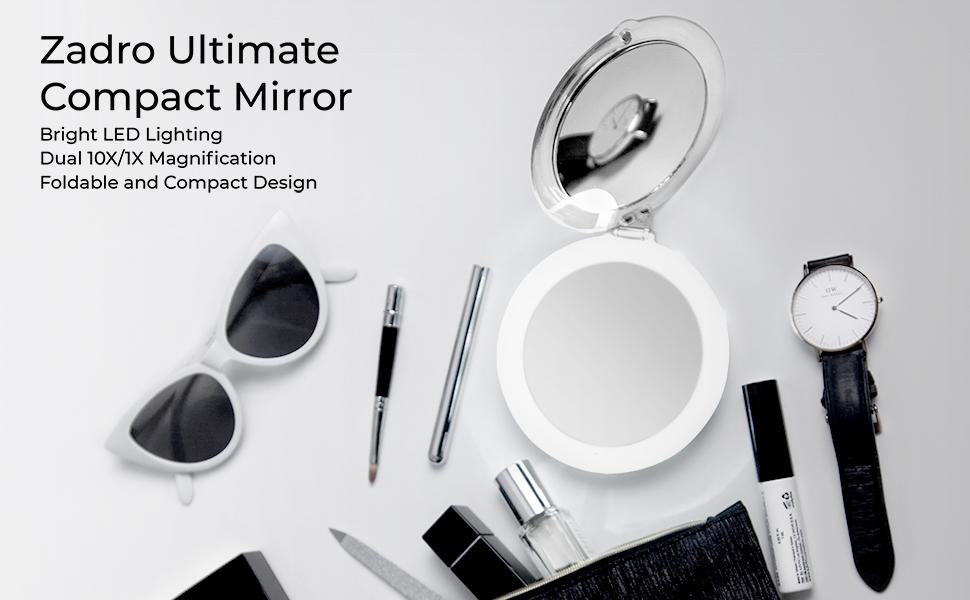 Zadro Ultimate Compact Mirror