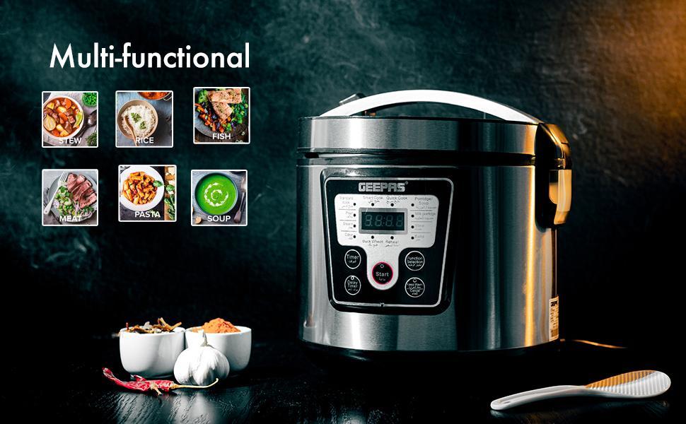 Electric Pressure Cooker Steamer Digital Multicooker vegetable steamer steam rice cooker
