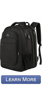 Matein travel expandable backpack