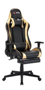 Gaming chair gold