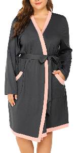 Plus Size Short Robes