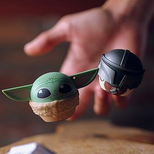 Grogu and Mandalorian speakers by bitty boomers