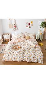 floral comforter set for girls