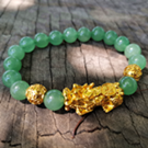 Green Aventurine bead