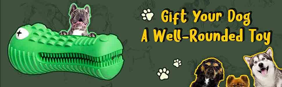 Quality Lyfe Interactive Dog Chew Toy