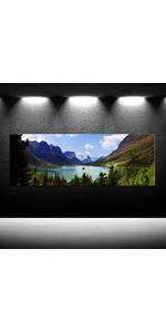 art, glacier national park art print, Glacier National Park Art Prints,mountain and snow art