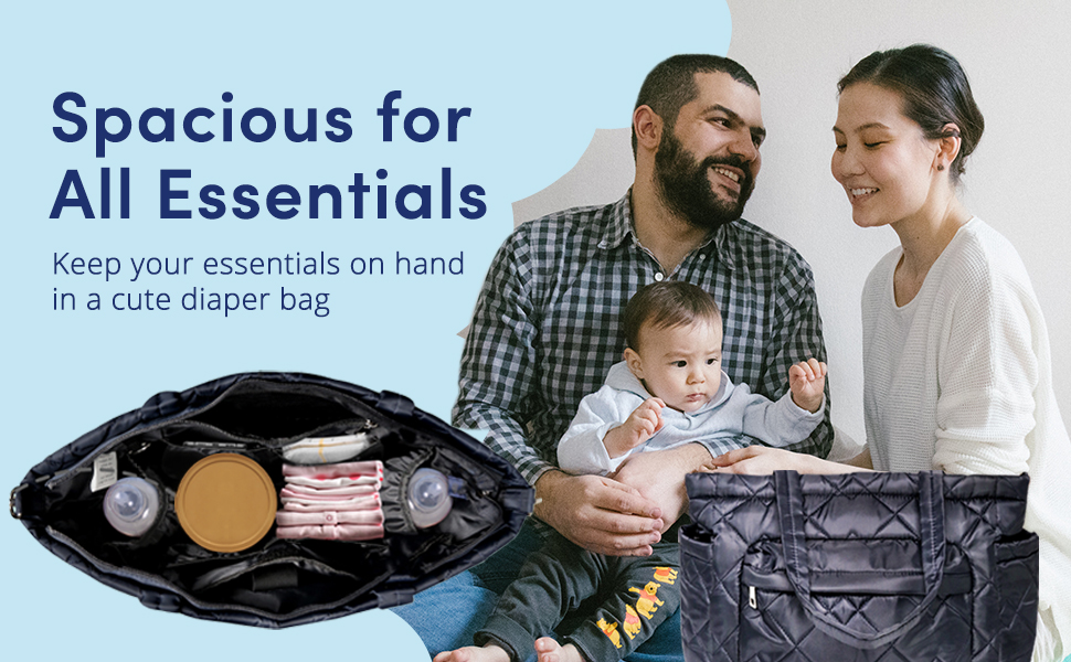 Stay prepared when you're on-the-go with your little ones.