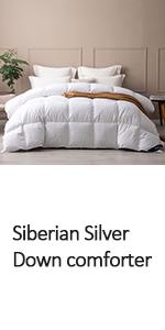 siberian down comforter