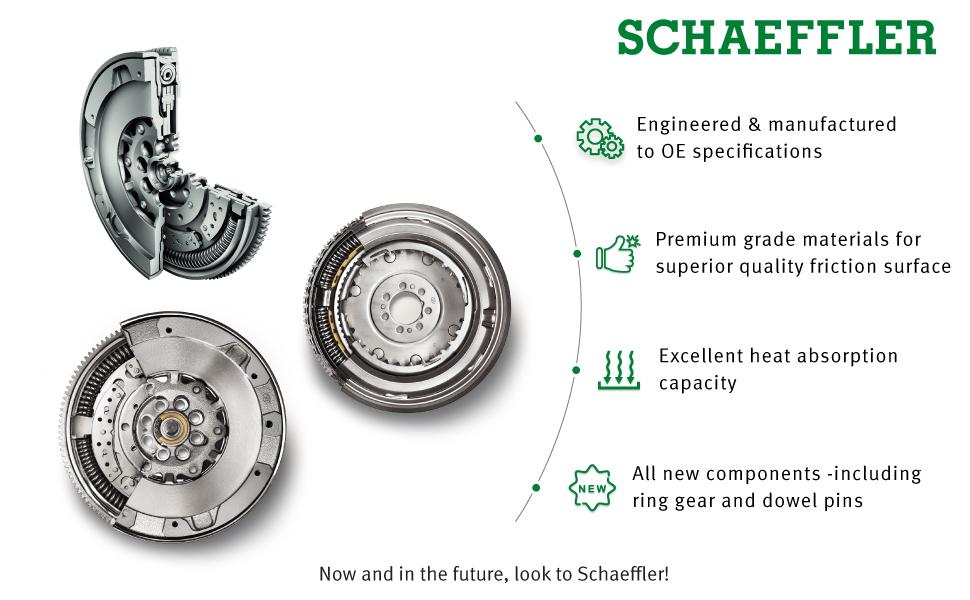Schaeffler LuK DMF019 Dual Mass Flywheel, OEM Dual Mass Flywheel, LuK Clutch Replacement Parts