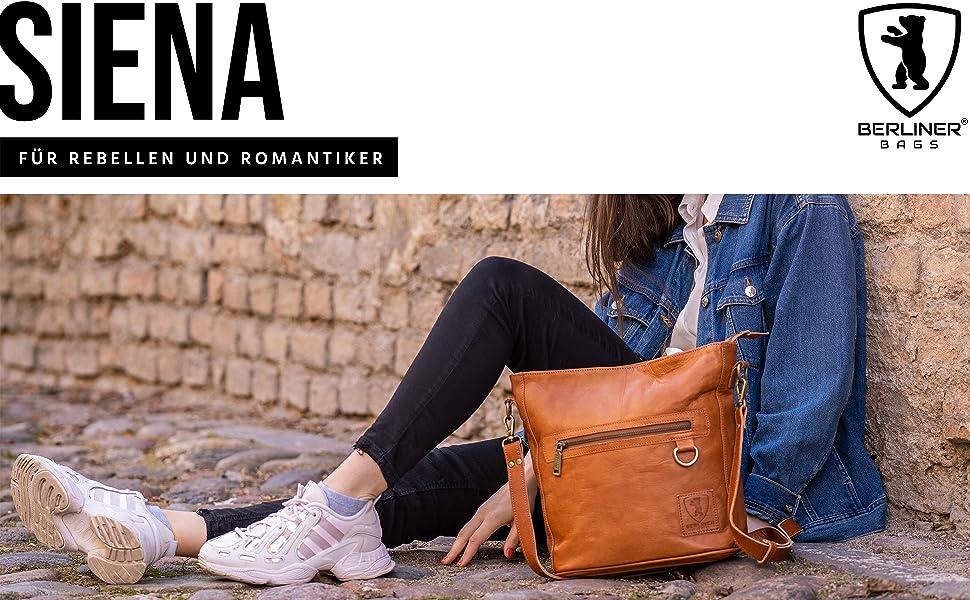 Berliner Bags Vintage Umhängetasche Siena