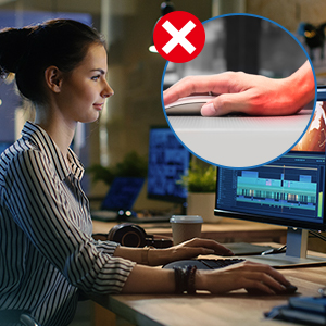 Keyboard Wrist Rest, Mouse Pad Wrist Support set INNÔPLUS