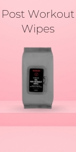 Post workout XXL cleaning wipes for men