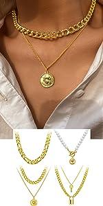 Lock necklaces
