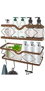 Shower Caddy Basket Shelf