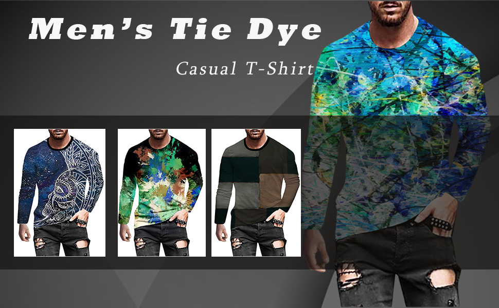 Men's Tops 3D Vintage Printed T-Shirt Casual Retro Street Style