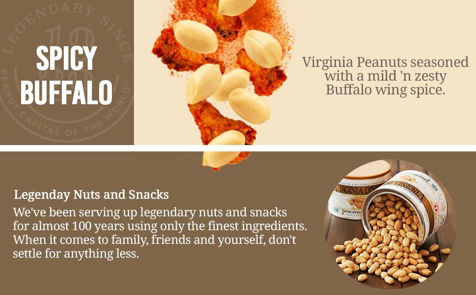 Spicy Buffalo Peanuts