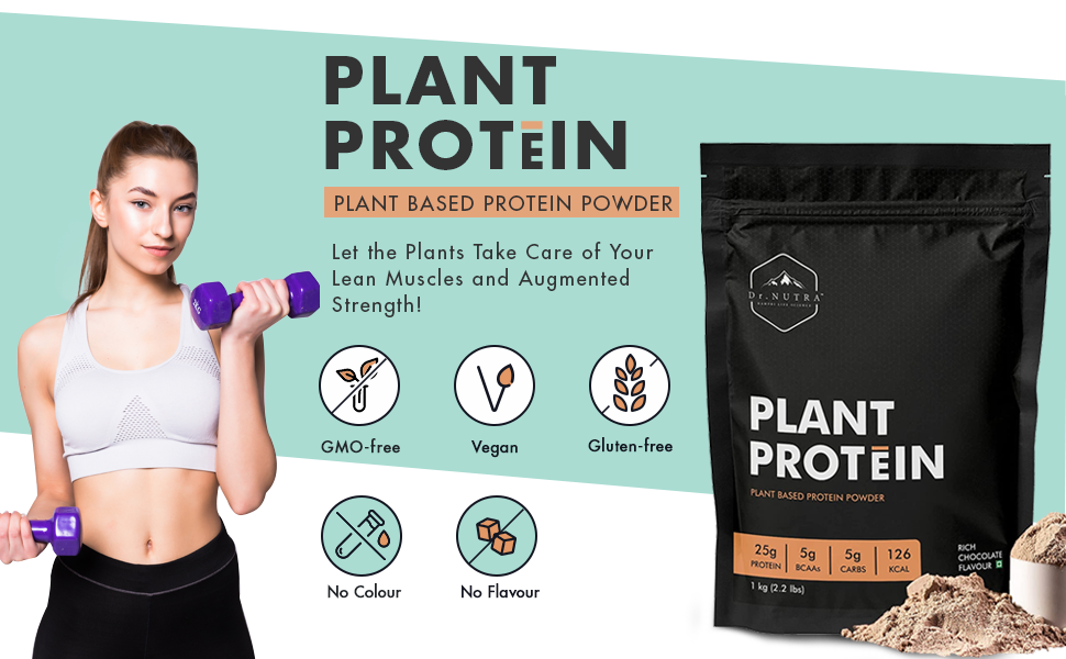 Plant Based Protein Powder Blend