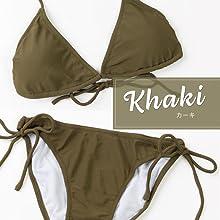 ビキニ 水着 レディース 女性用 女性 シンプル 水着セット オシャレ パット入り 上下セット タンキニ