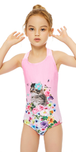 pink cat one piece