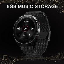 8GB Music Storage