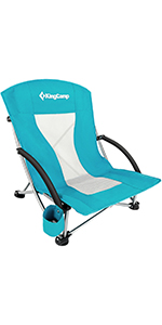 Beach Backpack Chair with Cup Holder Pocket