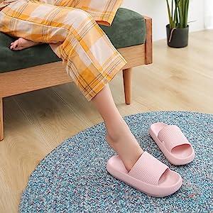pillow slides slippers