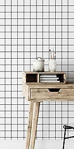 Papel de Parede Geometrico Grid
