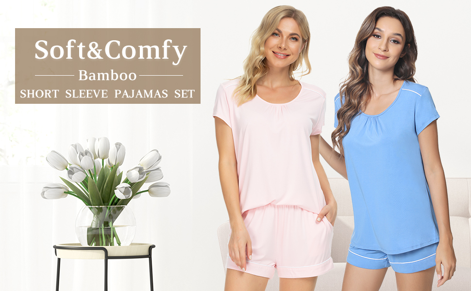 Casual home pj set won't be embarrassing even when guest visits