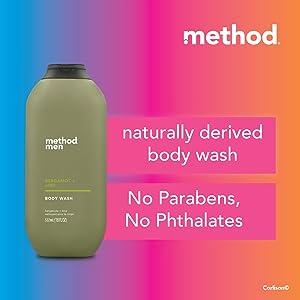 Men Body Wash - Bergamot + Lime 532ml