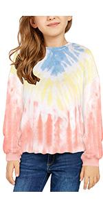 Kid Soft Sweatshirt Hoodie for Girls 4-13 Years