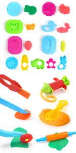 Clay Dough Tools Kit