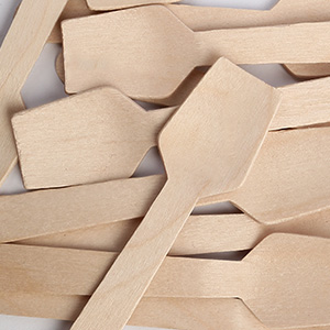 wooden spoons disposable