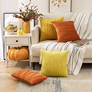 fall throw pillow covers