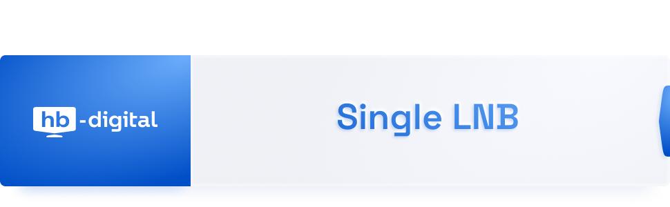 Single was lnb bedeutet DISH Pro