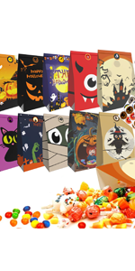 halloween candy bag treat bag goodie bag for trick or treat