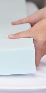 RECCI 4cm Surmatelas Mémoire de Forme
