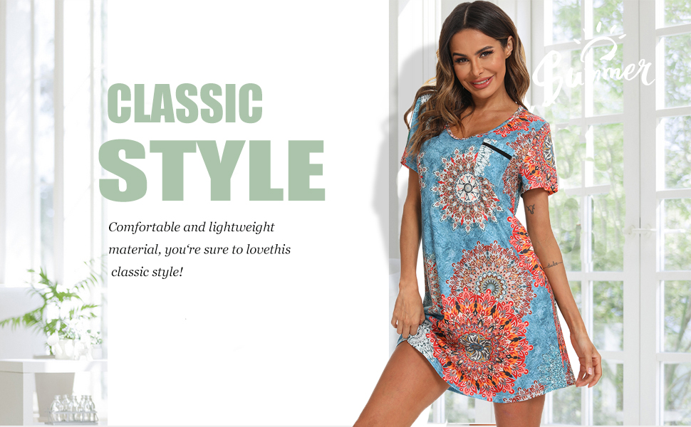 Comfortable and lightweight material, you're sure to lovethis classic style'