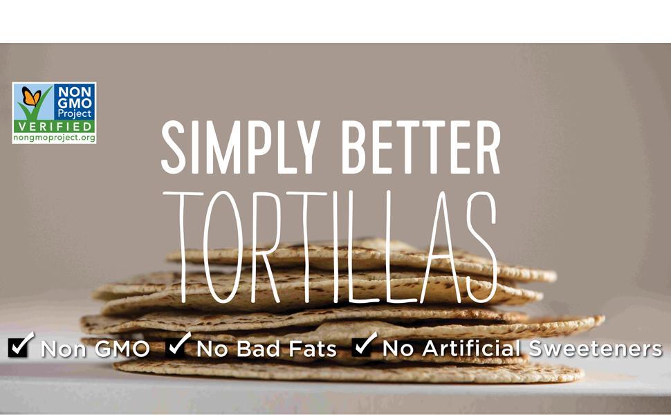 Simply Better Tortillas