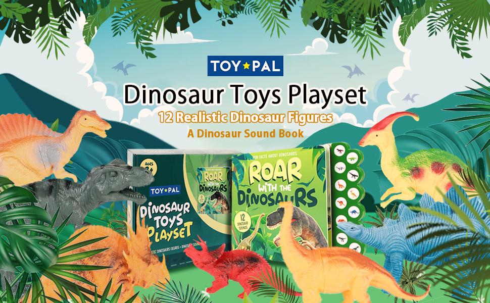 Dinosaur Toys Playset