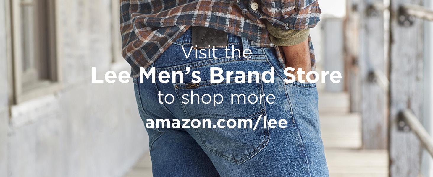 Lee Men's Legendary Regular Fit Straight Leg Jean