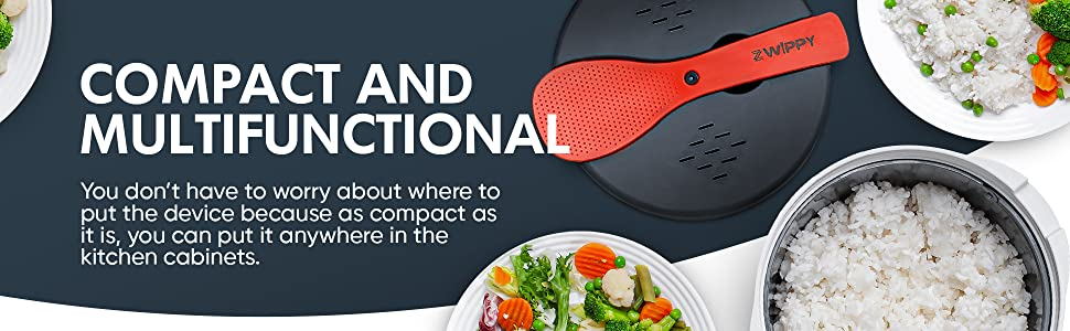 compact and multifunctional kitchen gadget