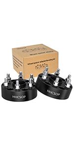 "HHCSOP Wheel Spacer 6x5.5 to 6x5.5(139.7mm) Wheel Adapter 2""(50mm) Che-vrolet Express Silverado"